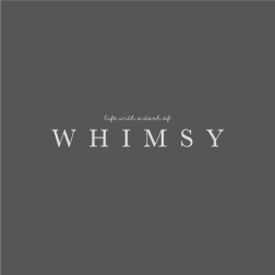 Life with a Dash of Whimsy Logo Design